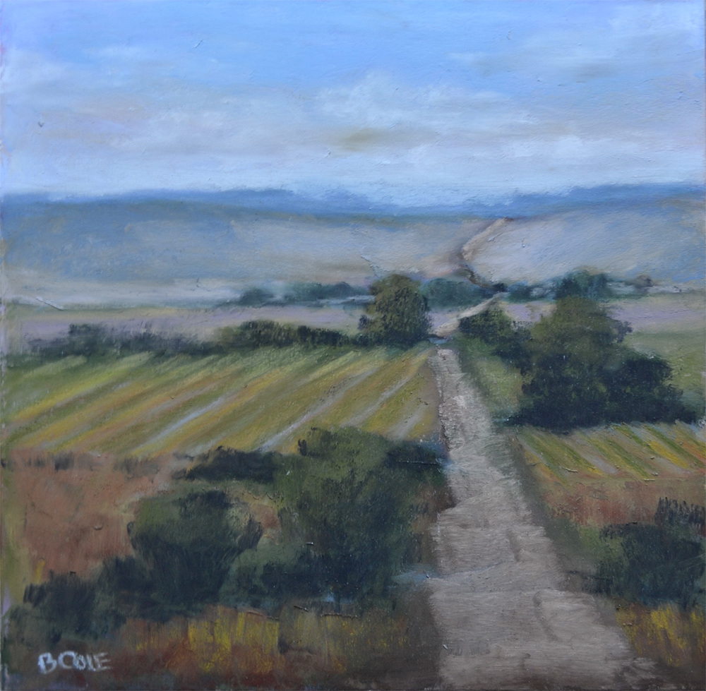 Custer County - SOLD - 9 x 9 - Pastel