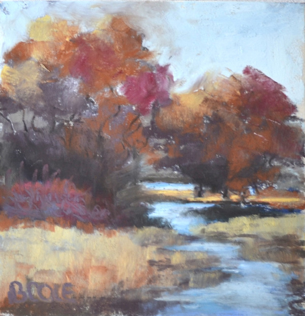 Hidden Pond © Beth Cole Pastel on Paper - SOLD