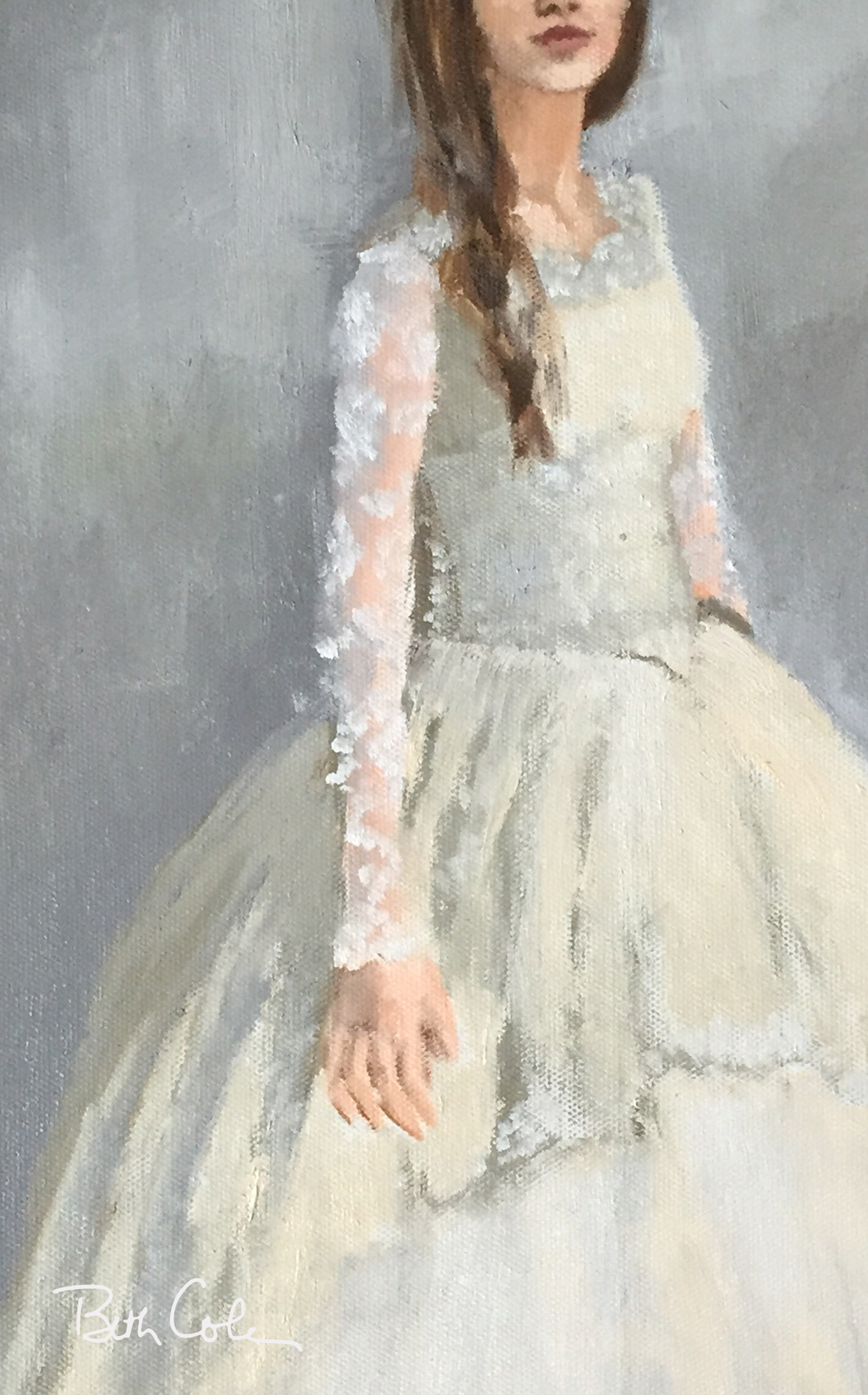 Cropped Version of Wedding Dress III © Beth Cole