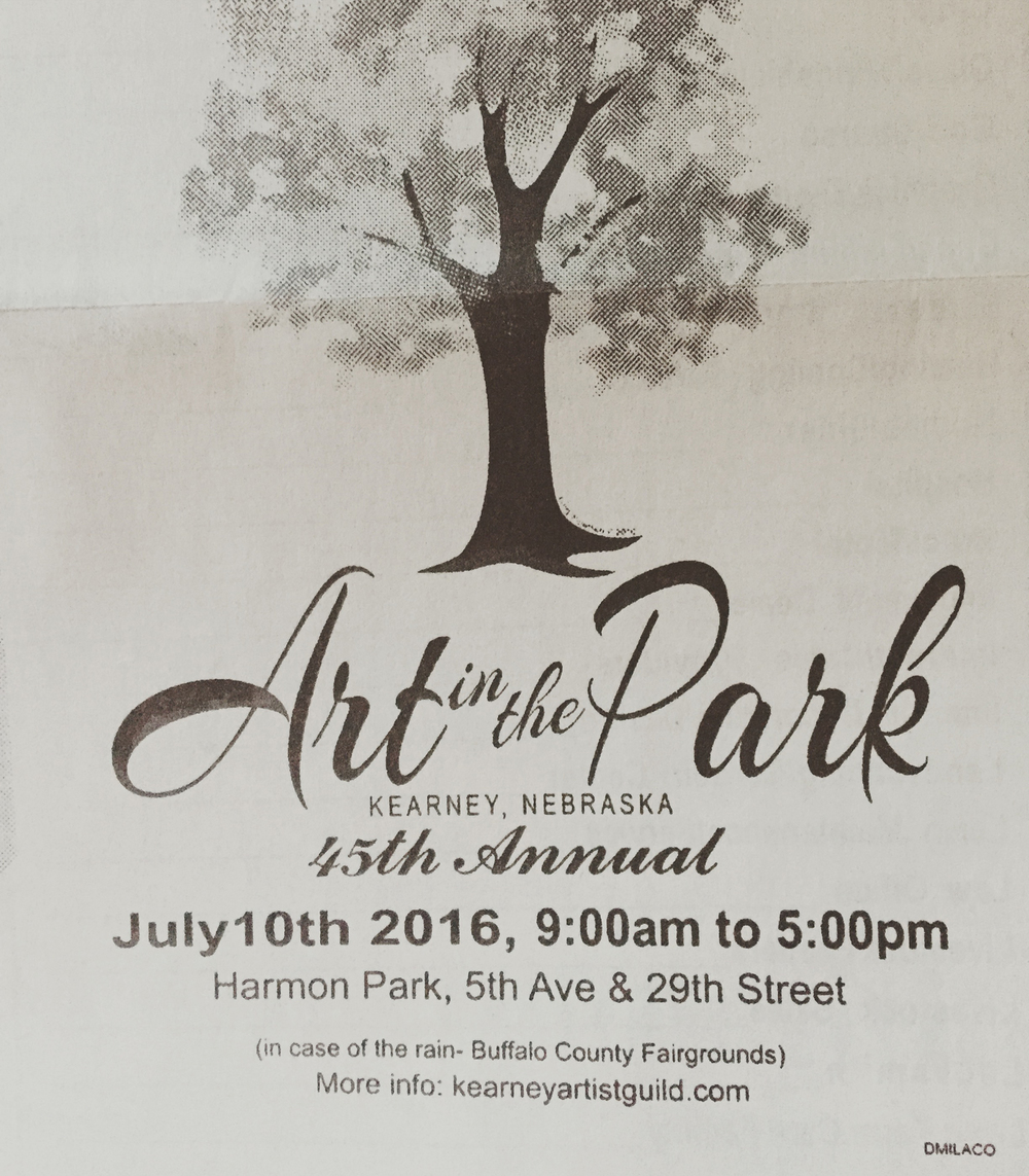 Kearney Art in the Park 2016