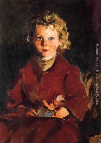 Rosaleen by Robert Henri