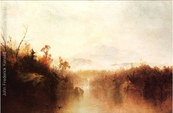 Mountain Lake by John Frederick Kensett