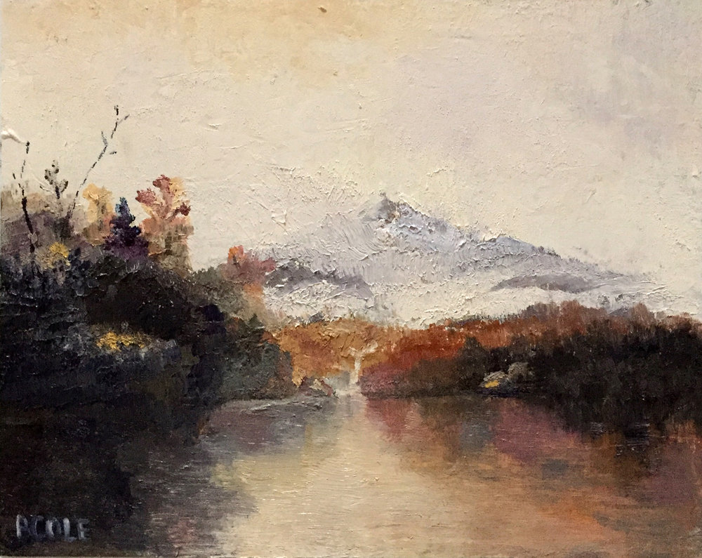 Beth Cole, Mountain Lake after John Frederick Kensett