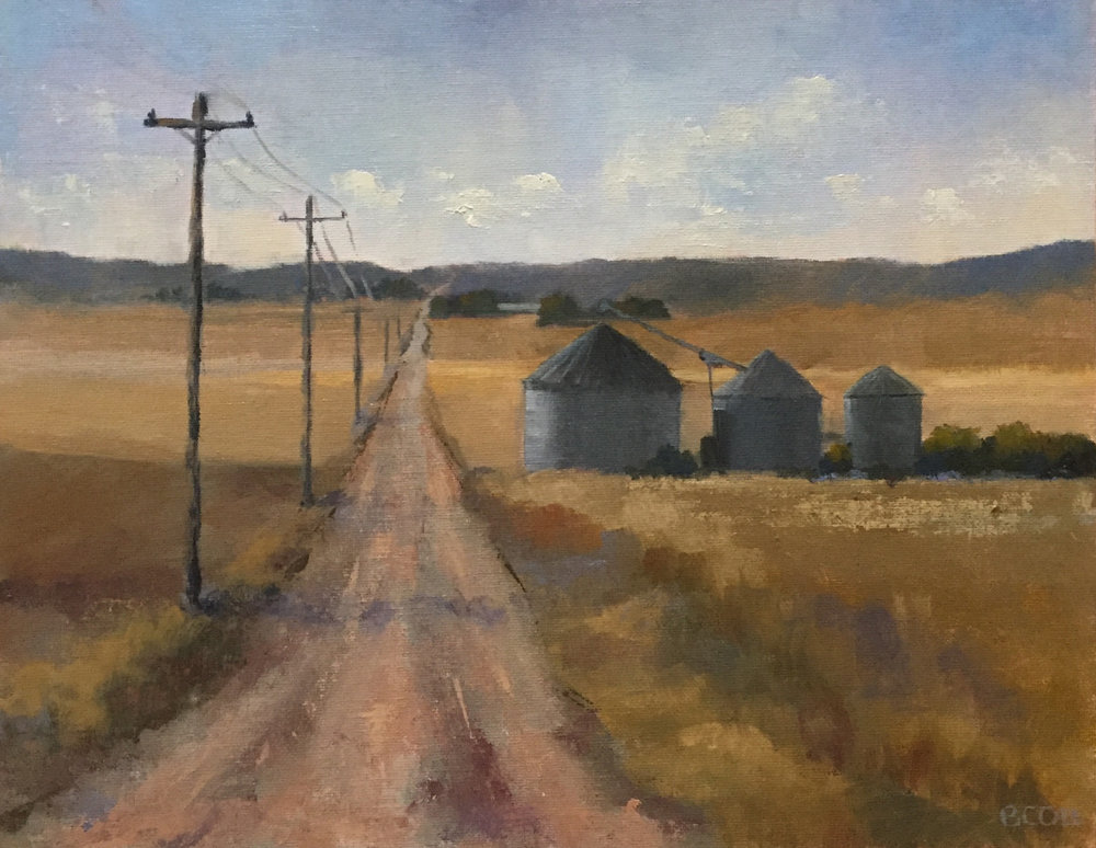 Going Home | ©Beth Cole | Oil on Canvas | 11 x 14