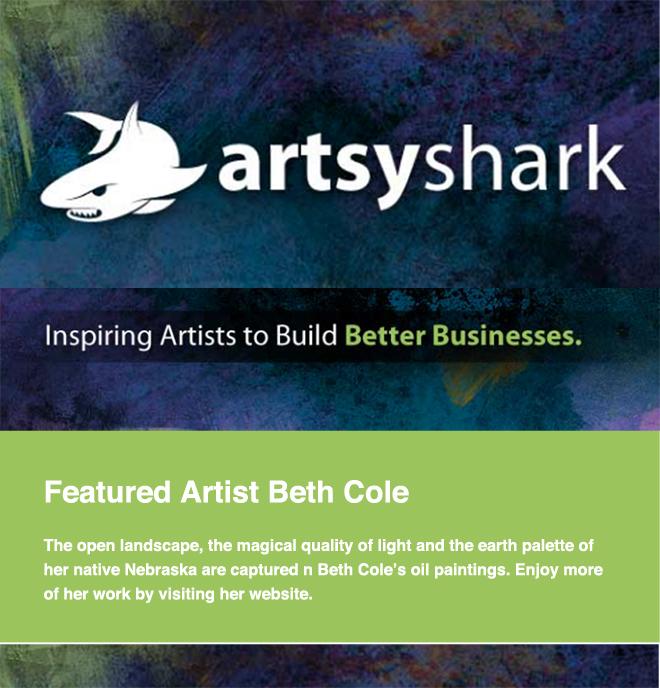 Featured Artist at ArtsyShark.com