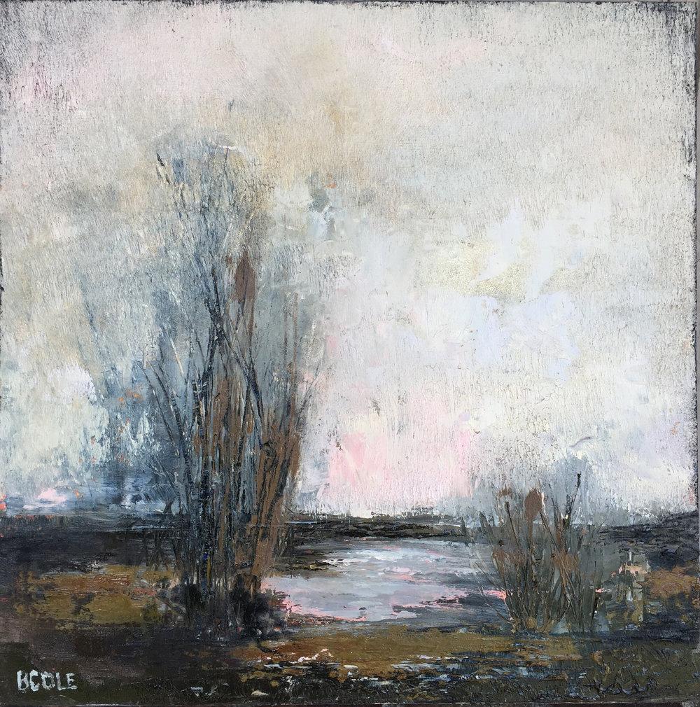 Winter © Beth Cole | Oil on Wood Panel | 12 x 12