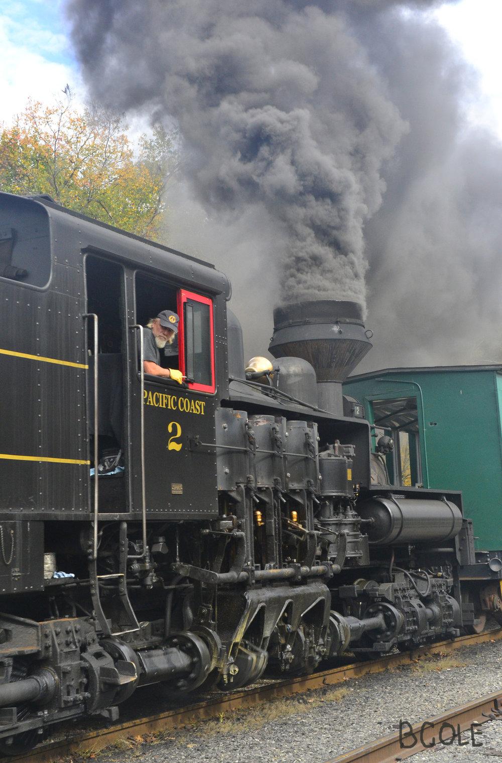Steam Engine, Cass, West Virginia ©Beth Cole