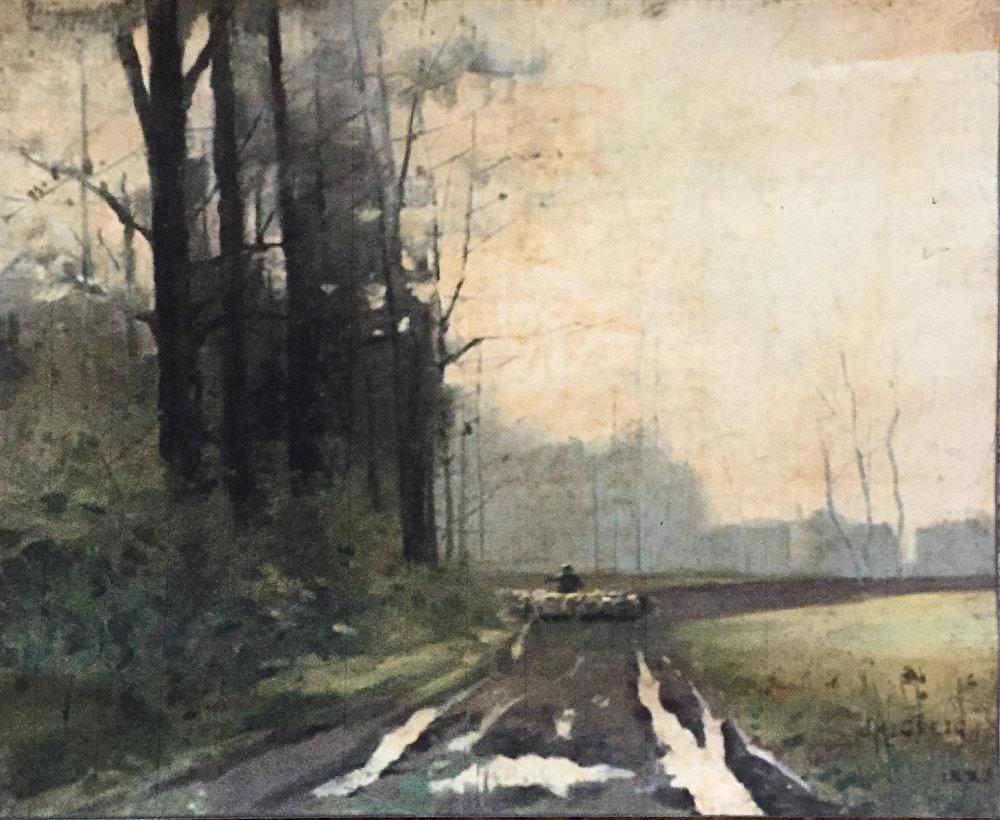J.M. Greig | Landscape in France