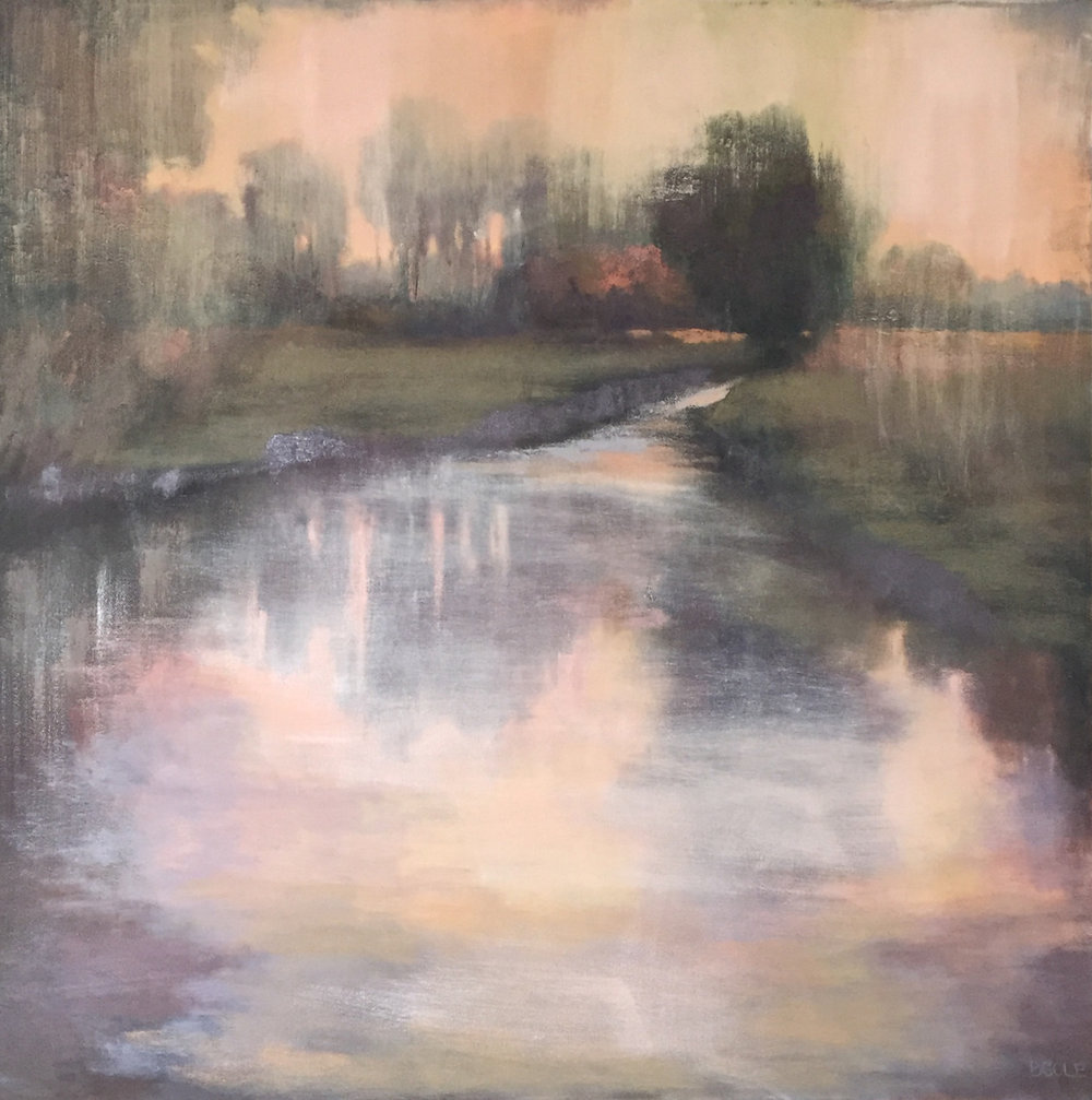 Solitude ©Beth Cole | Oil on Canvas | 36 x 36