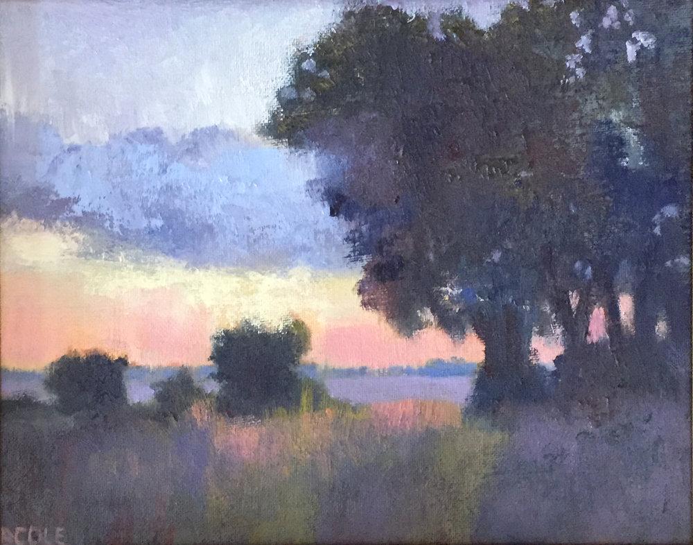 Dawn - 8 x 10 - Oil