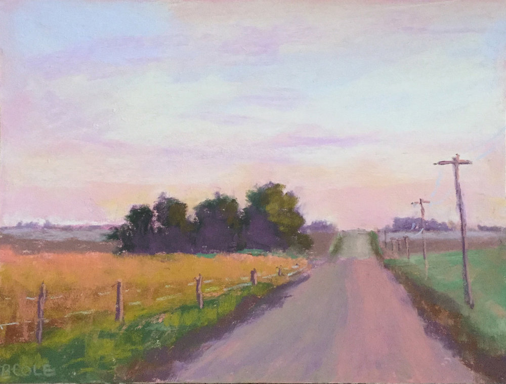 Daybreak - 9 x 12 - Pastel