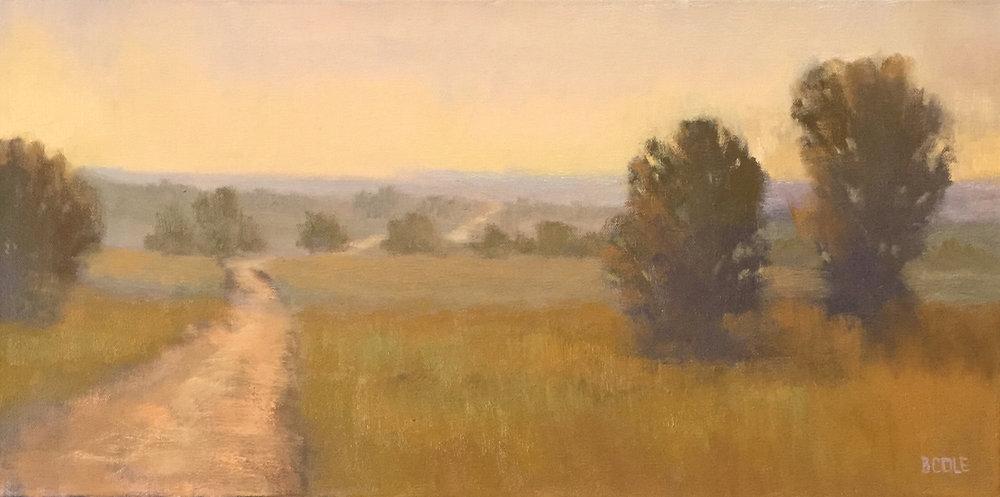 Grace - 12 x 24 - Oil on Canvas