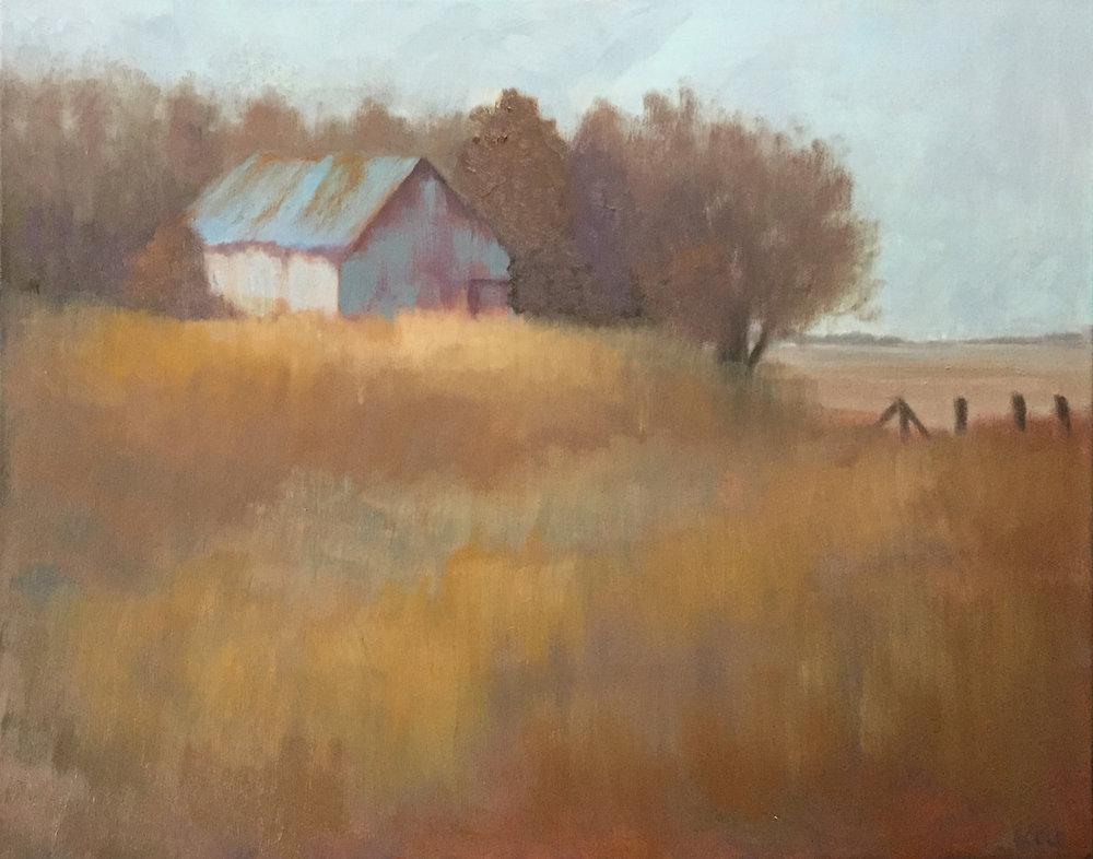 Higher Ground - 24 x 30 - Oil on Canvas