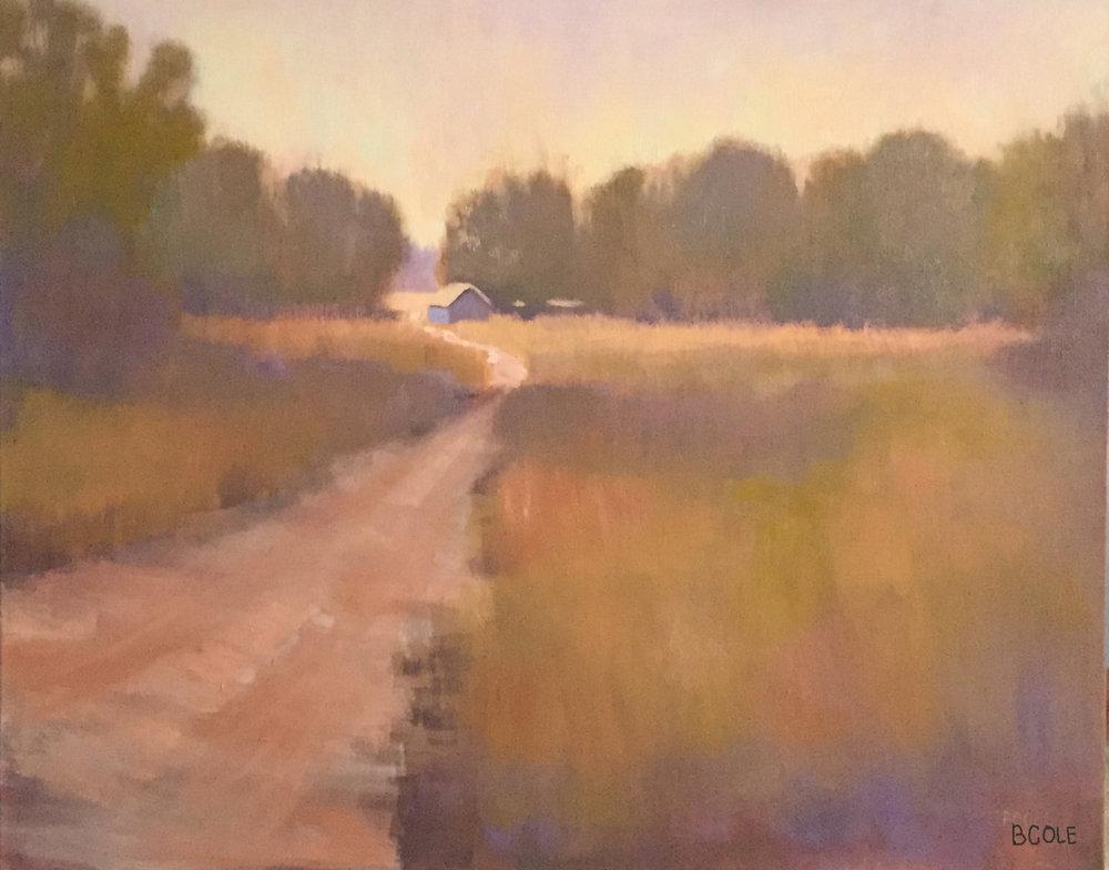 Quiet - 30 x 24 - Oil on Canvas