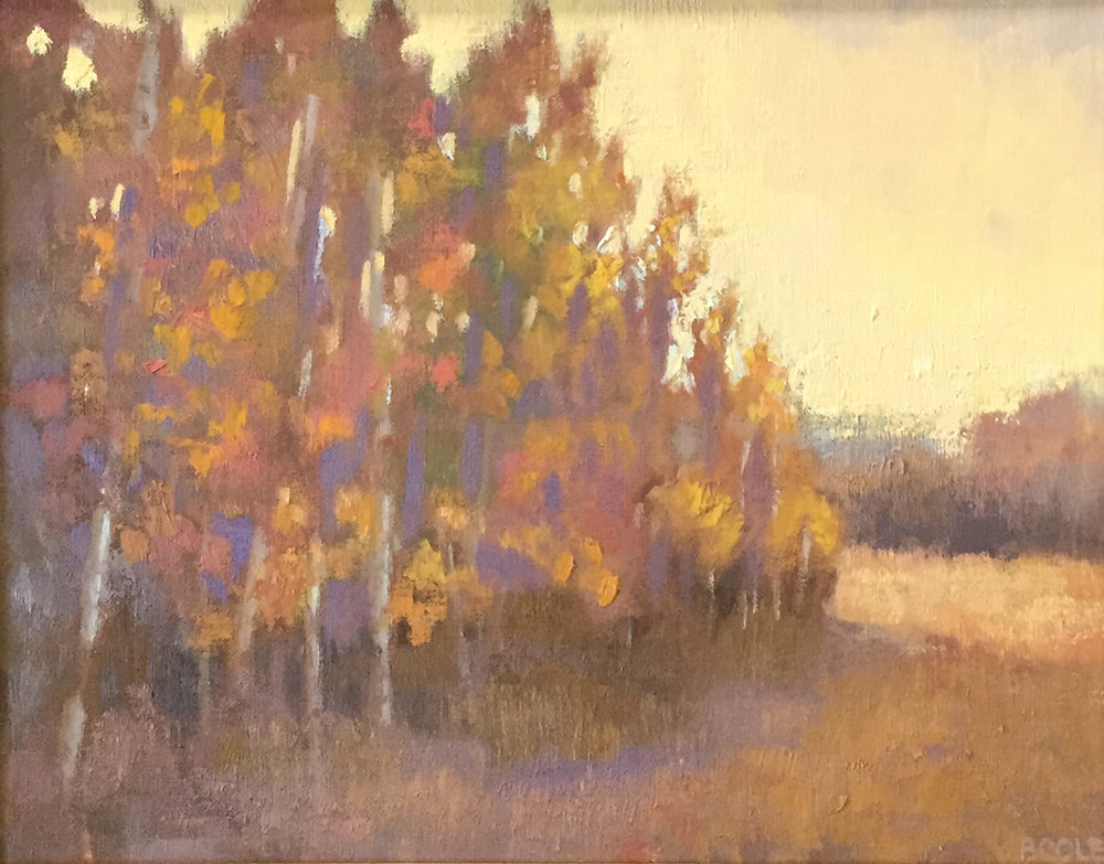 Upward - 11 x 14 - Oil on Canvas
