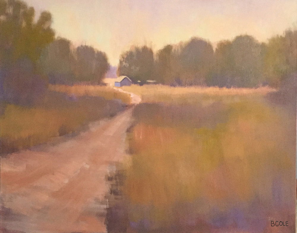 Quiet | Oil on Canvas | © Beth Cole