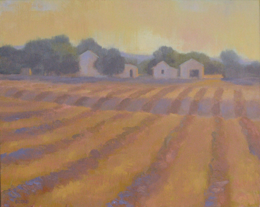 Hay's Down  - Oil on Canvas - 16 x 20 - ©Beth Cole
