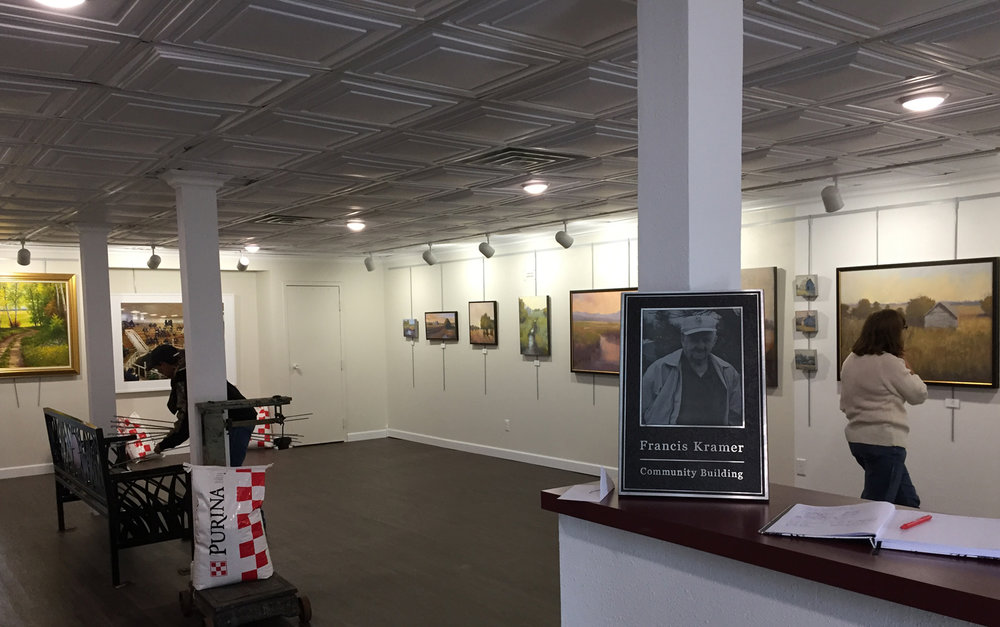 Old Feed Store Art Center in Bassett Nebraska | Beth Cole Exhibition October 2018