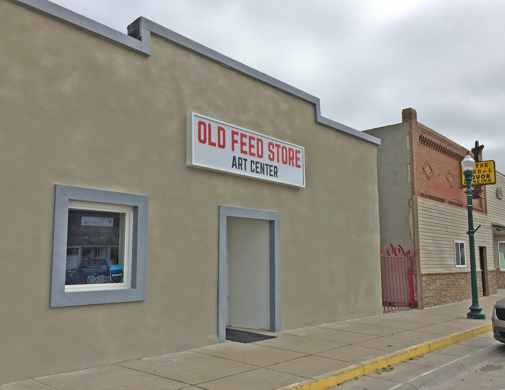 Old Feed Store Art Center, Bassett, Nebraska