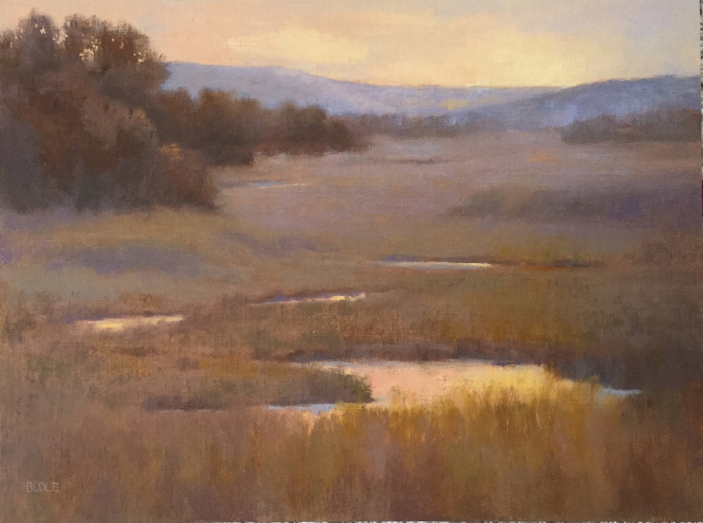 Sacred Sunrise | Oil on Linen Panel | 18 x 24 | © Beth Cole