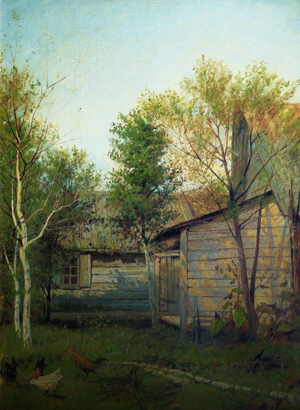 Sunny Day by Isaac Levitan