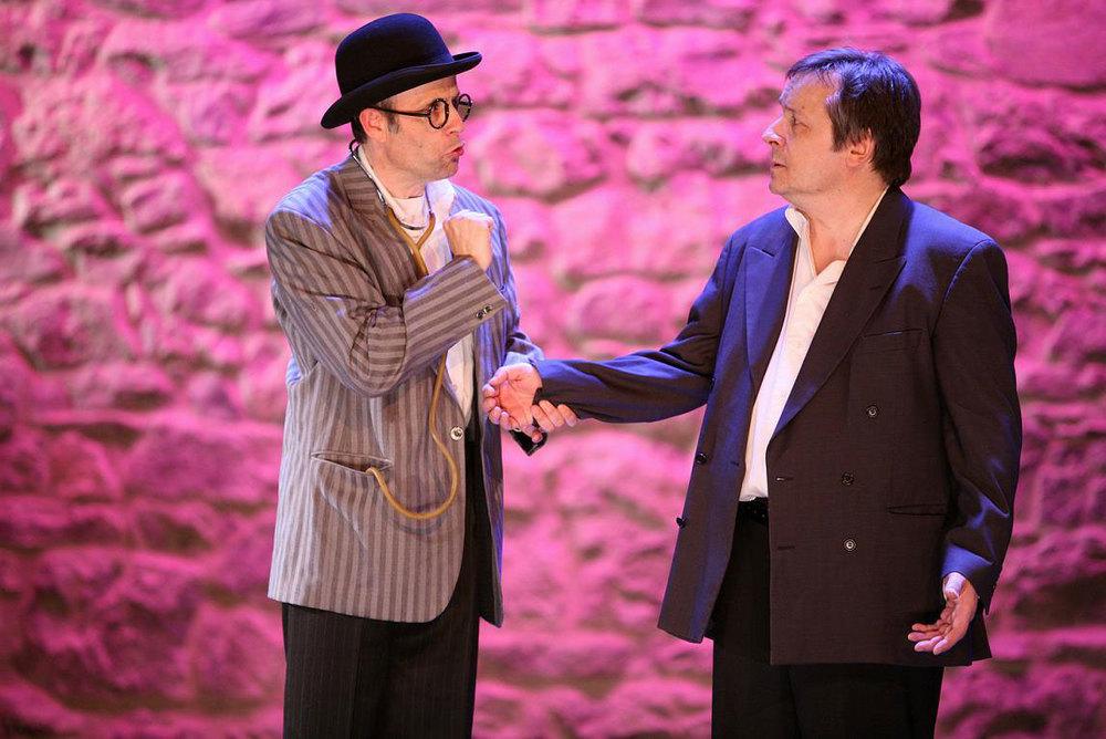 À gauche: Gilles Decorvet, à droite: Patrick Brunet