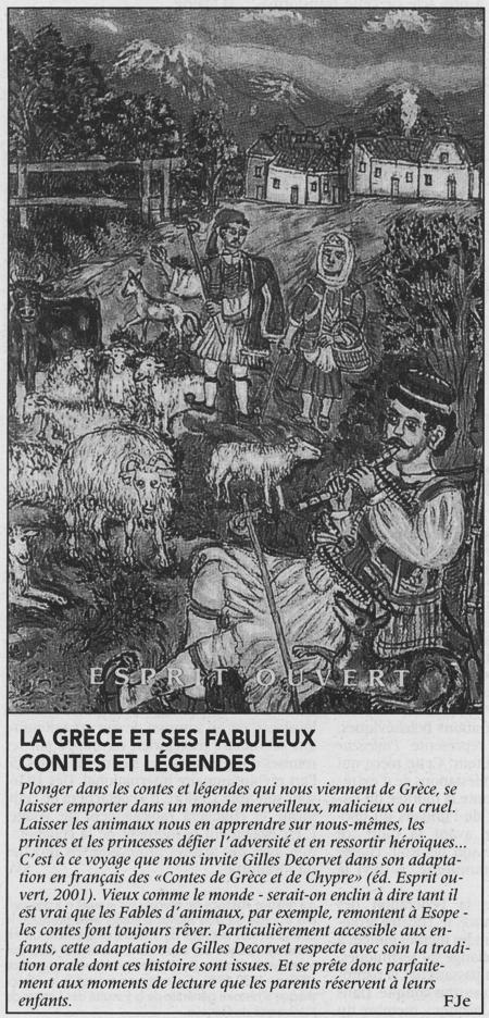 LE COURRIER / SAMEDI 5 JANVIER 2002 - par Fje