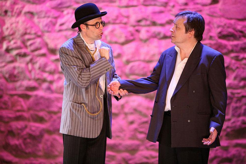 (photo)À gauche: Gilles Decorvet, à droite: Patrick Brunet