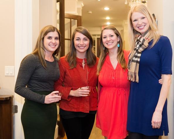 Elizabeth Yarotsky, Carli Baker, Natalie Murdock, Lauren Bryan. Photo by Deji Osinulu Photography