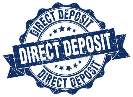 Direct Deposit Agreement   Paperwork needed for the electronic transfer of a payment directly from the account of the payer to the recipient's account.