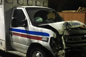 Pt steals ambulance, hits two police cars - ems1.com