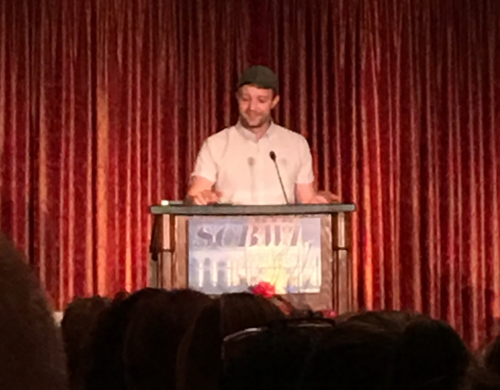 "Jon Klassen  talked thoughtfully about the creative process during his keynote titled: ""Finding Yourself in the Work."" He gave examples of approaches artists have used to create work that is both innovative and authentic, and talked about how his own process has developed."