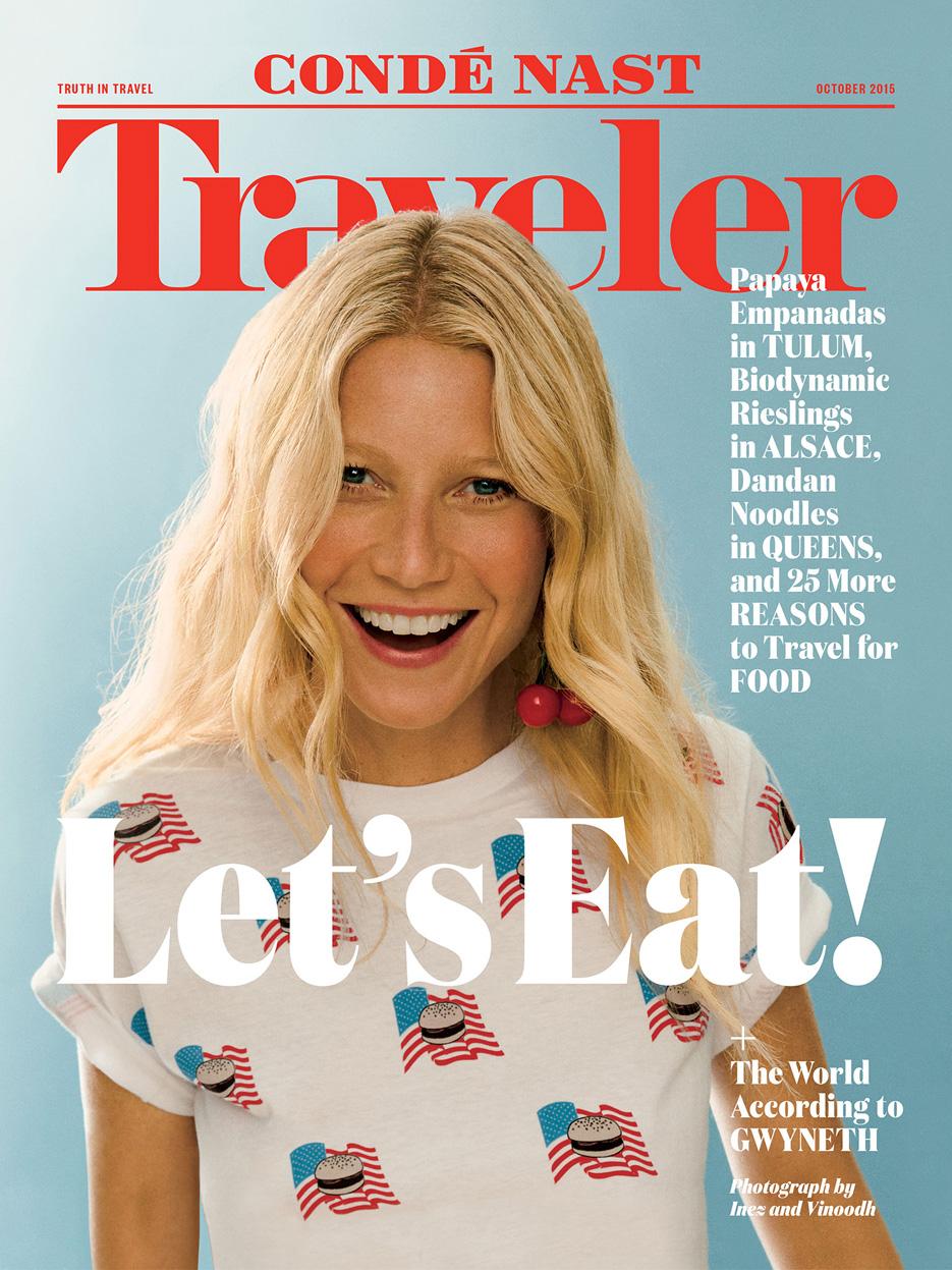 Conde Nast Traveler October 2015