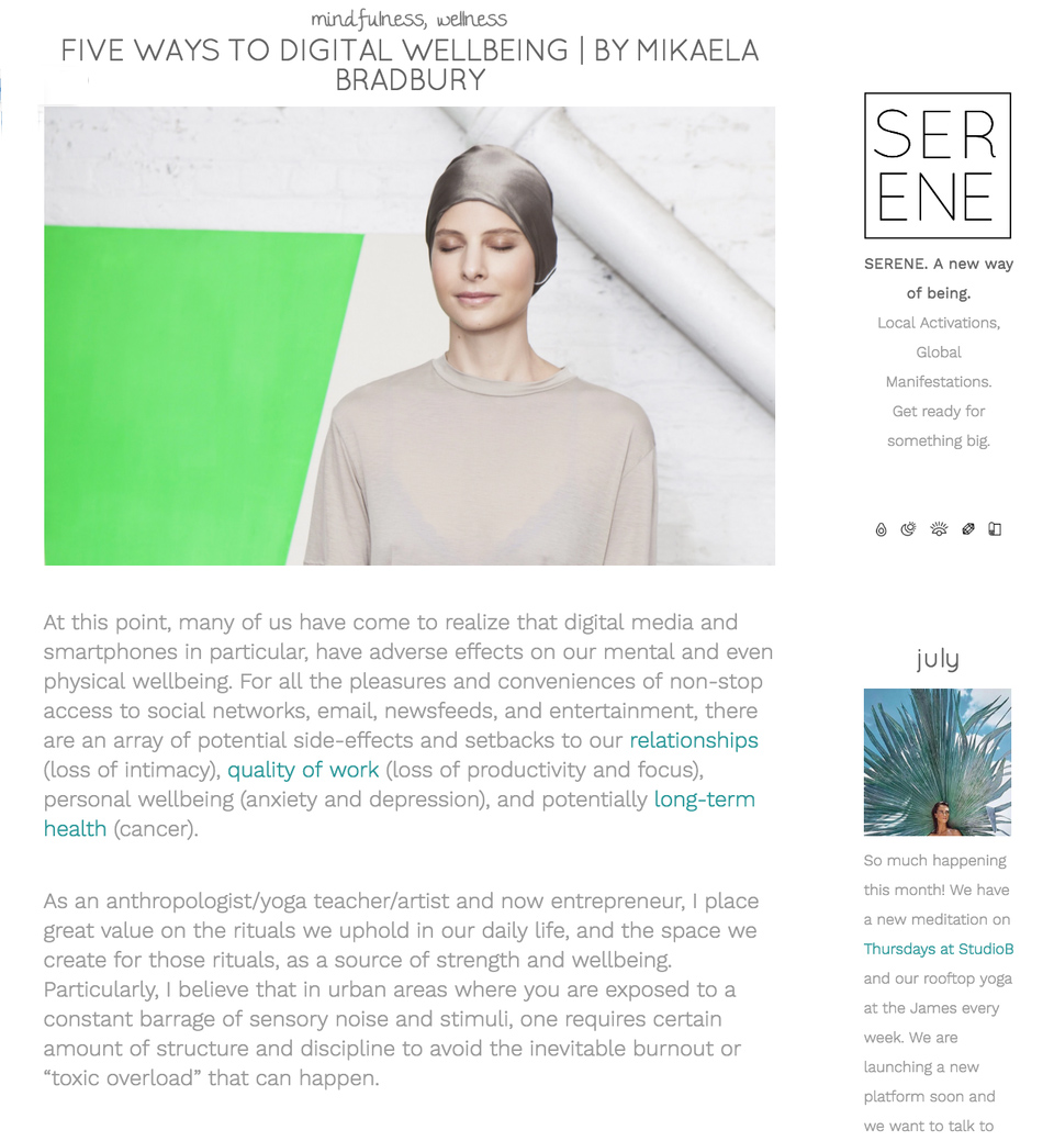 Serene Social July 2016