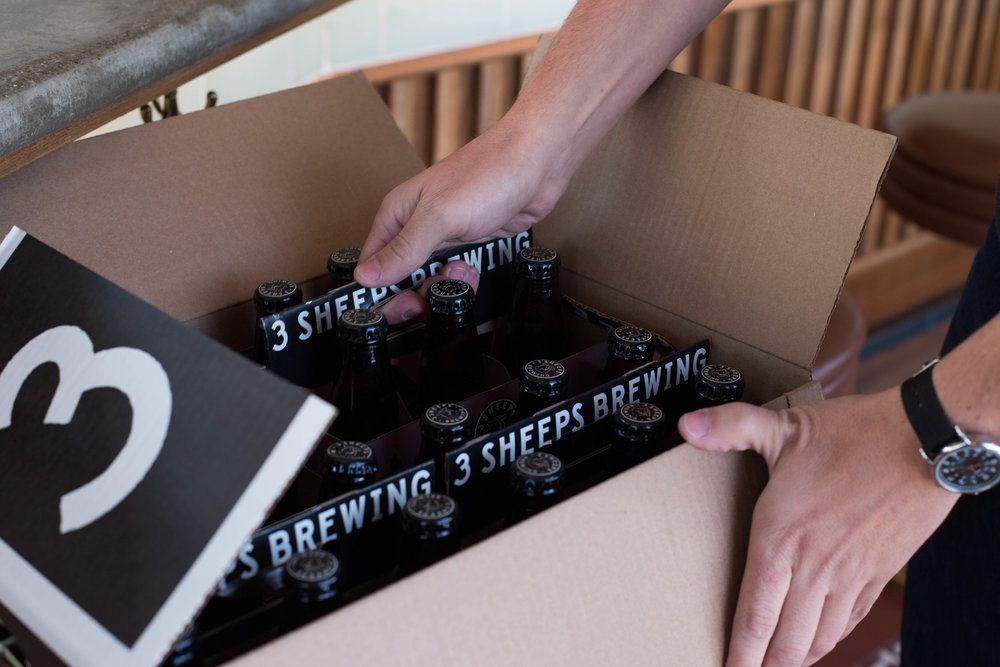 3 Sheeps Craft Beer Design