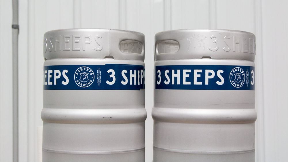 3 Sheeps Keg Design
