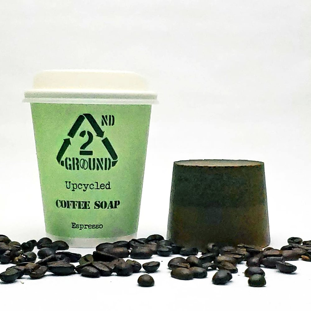 Upcycled Coffee Soap - Espresso Fragrance