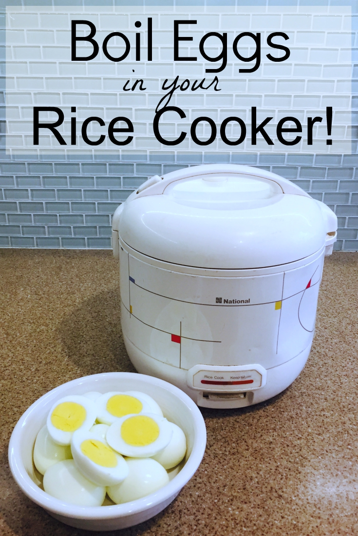 Boil Eggs in your Rice Cooker
