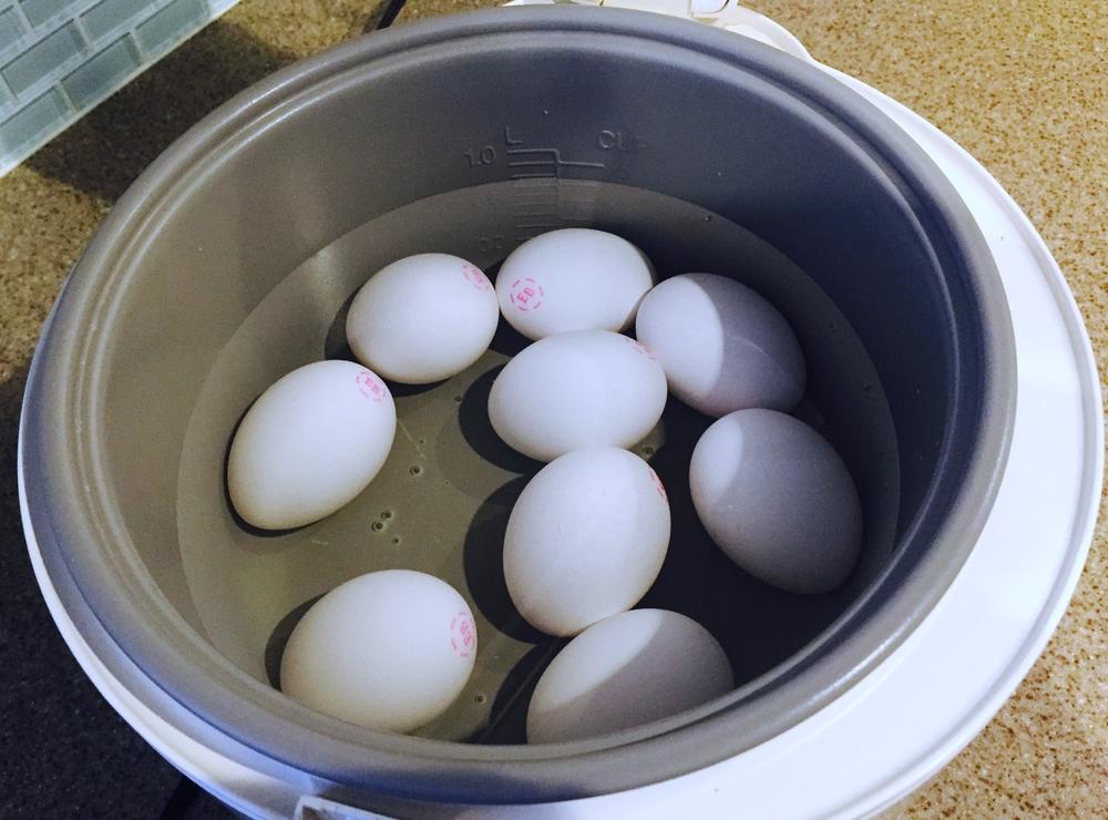 Egg Boiled Rice Boiling Eggs