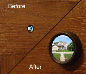 Safetyview Peephole Before After 300x257