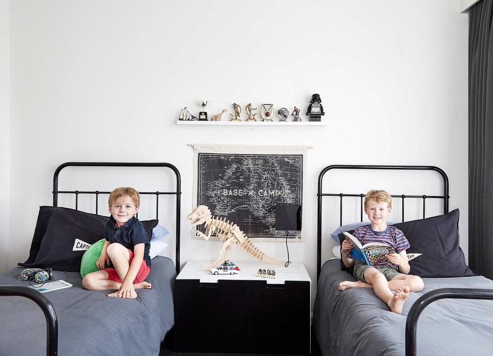 Sam and Finn's room