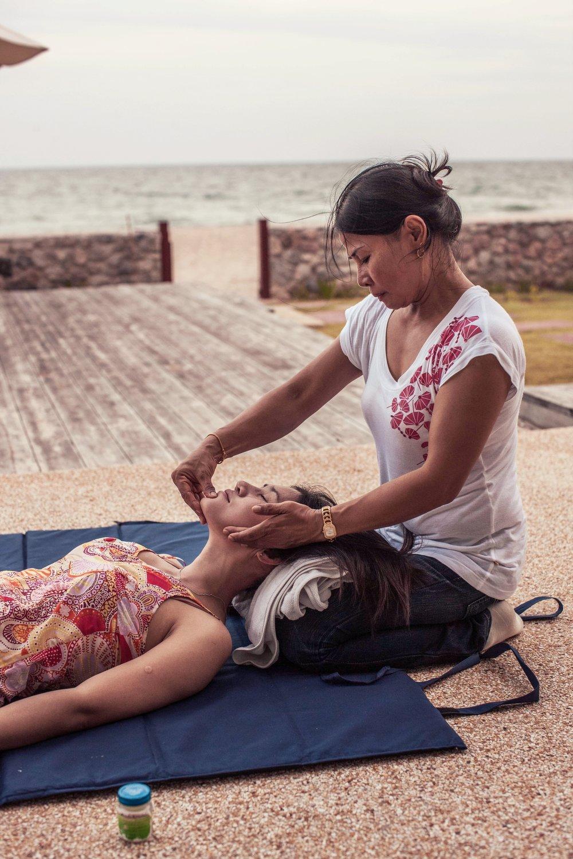 Det går utmärkt att beställa massage till huset när man så önskar.