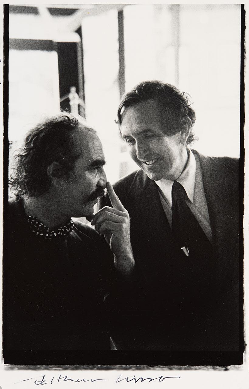 Jean Tinguely  & Cesar Pelli