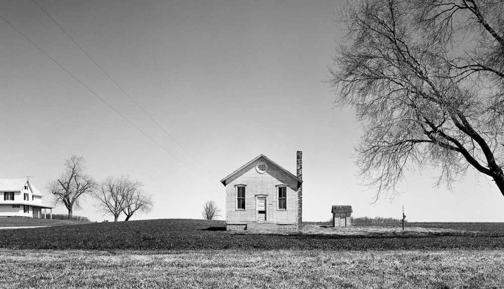 School House 1878 (Grass Lake, MI) 1976