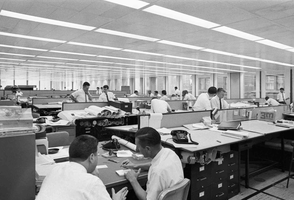 S.O.M., Inland Steel Building (Chicago, IL) 1958