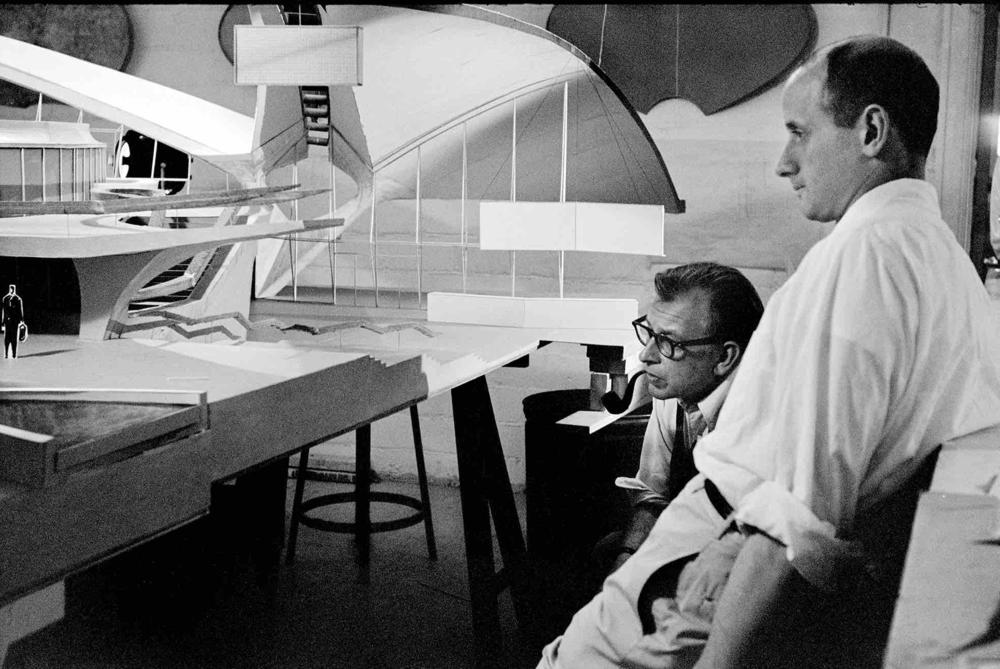 Eero Saarinen, c 1960