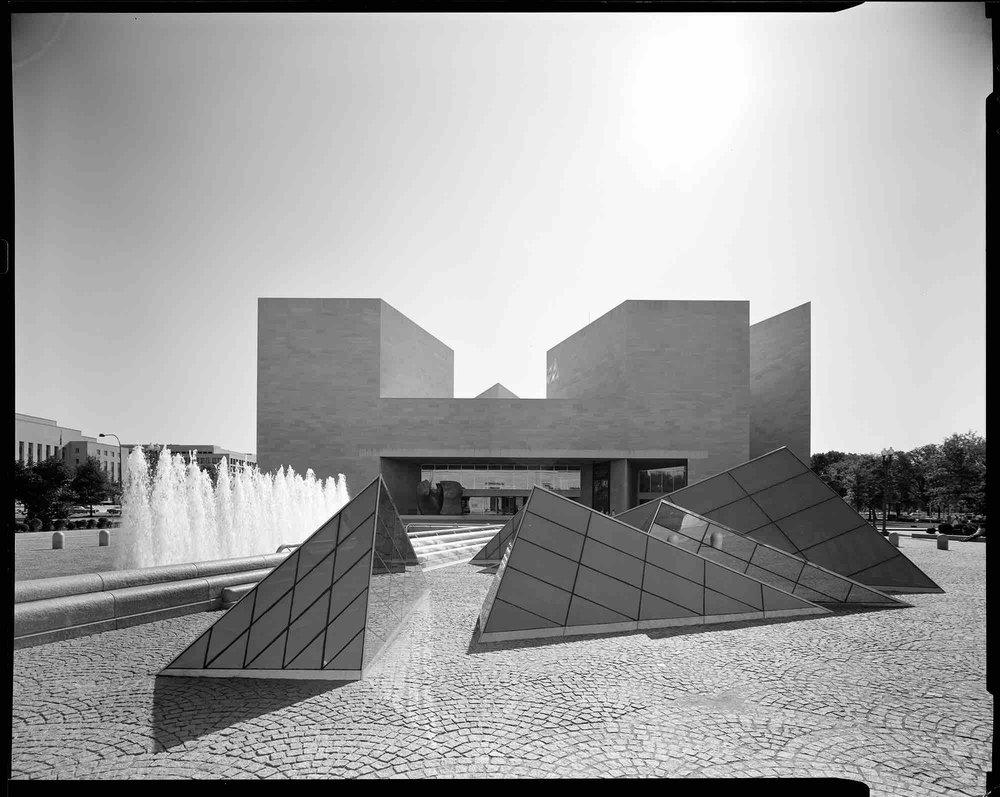 I.M. Pei, East Building of the National Gallery (Washington D.C.) 1978