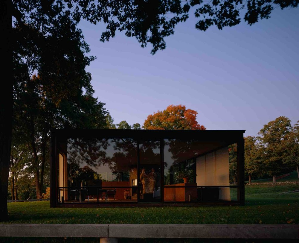Philip Johnson, Glass House (New Canaan, CT) 1949