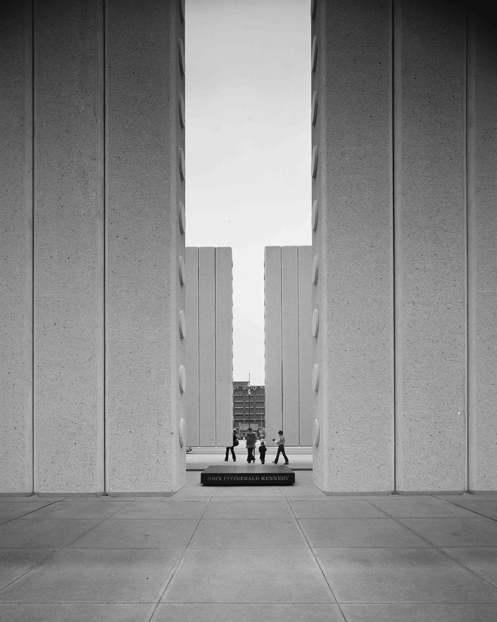 Philip Johnson, John Fitzgerald Kennedy Memorial (Dallas, TX) 1970