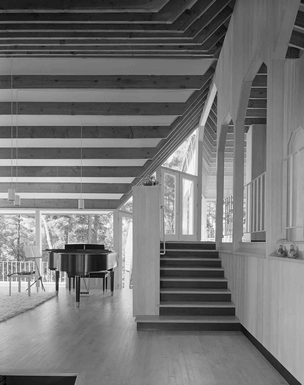 S.O.M.,Tangerman Summer House (Lake Rousseau, Canada) 1965.